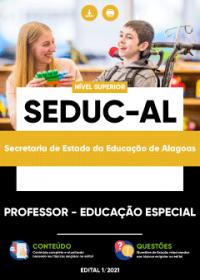 Professor - Educação Especial - SEDUC-AL