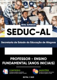 Professor - Ensino Fundamental (Anos Iniciais) - SEDUC-AL