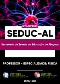 Professor - Especialidade: Física - SEDUC-AL
