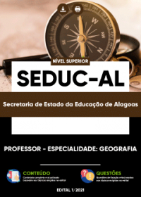 Professor - Especialidade: Geografia - SEDUC-AL