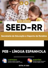 PEB - Língua Espanhola - SEED-RR