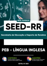 PEB - Língua Inglesa - SEED-RR