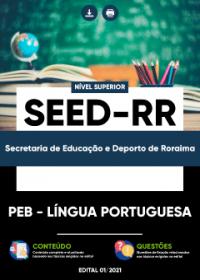 PEB - Língua Portuguesa - SEED-RR
