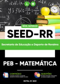 PEB - Matemática - SEED-RR