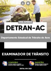 Examinador de Trânsito - DETRAN-AC