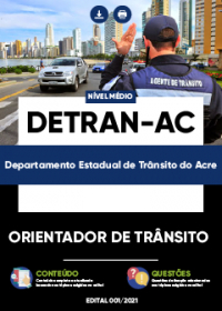 Orientador de Trânsito - DETRAN-AC