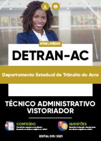 Técnico Administrativo Vistoriado - DETRAN-AC