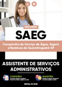 Assistente de Serviços Administrativos - SAEG