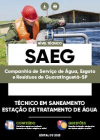 Técnico em Saneamento - Estação de Tratamento de Água - SAEG