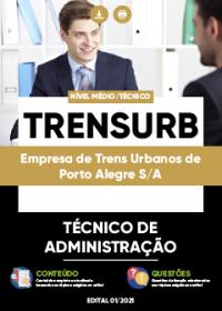 Técnico de Administração - TRENSURB