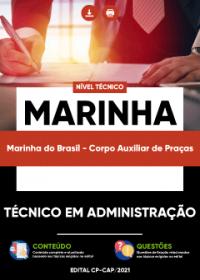 Técnico em Administração - Marinha do Brasil (Corpo Auxiliar de Praças)