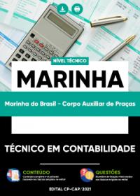 Técnico em Contabilidade - Marinha do Brasil (Corpo Auxiliar de Praças)