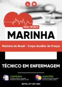 Técnico em Enfermagem - Marinha do Brasil (Corpo Auxiliar de Praças)