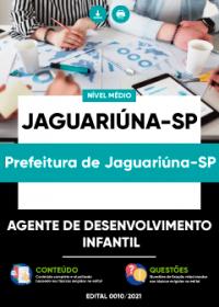 Agente de Desenvolvimento Infantil - Prefeitura de Jaguariúna-SP
