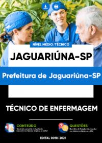 Técnico de Enfermagem - Prefeitura de Jaguariúna-SP