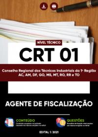 Agente de Fiscalização - CRT 01