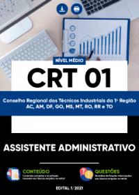 Assistente Administrativo - CRT 01