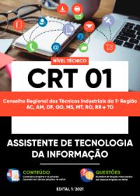 Assistente de Tecnologia da Informação - CRT 01