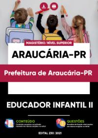 Educador Infantil II - Prefeitura de Araucária-PR