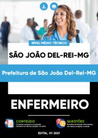 Enfermeiro - Prefeitura de São João Del-Rei-MG