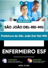 Enfermeiro ESF - Prefeitura de São João Del-Rei-MG