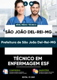 Técnico em Enfermagem ESF - Prefeitura de São João Del-Rei-MG