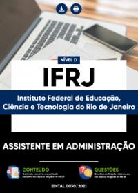 Assistente em Administração - IFRJ