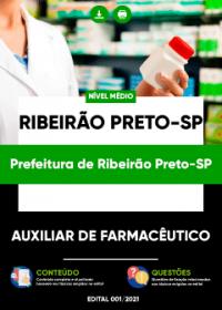 Auxiliar de Farmacêutico - Prefeitura de Ribeirão Preto-SP