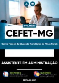 Assistente em Administração - CEFET-MG