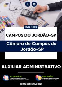 Auxiliar Administrativo - Câmara de Campos do Jordão-SP