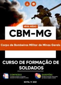Curso de Formação de Soldados - CBM-MG