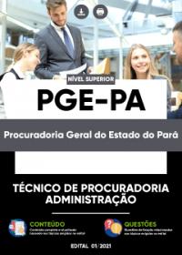 Técnico de Procuradoria - Administração - PGE-PA