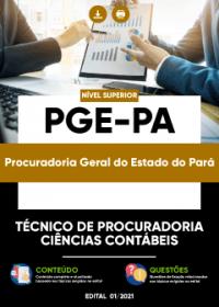 Técnico de Procuradoria - Ciências Contábeis - PGE-PA