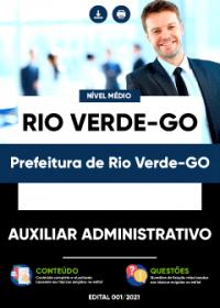 Auxiliar Administrativo - Prefeitura de Rio Verde-GO