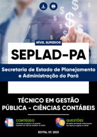 Técnico em Gestão Pública - Ciências Contábeis - SEPLAD-PA