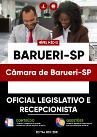 Oficial Legislativo e Recepcionista - Câmara de Barueri-SP