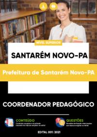 Coordenador Pedagógico - Prefeitura de Santarém Novo-PA