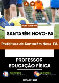 Professor - Educação Física - Prefeitura de Santarém Novo-PA