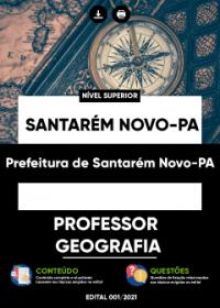 Professor - Geografia - Prefeitura de Santarém Novo-PA