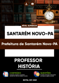 Professor - História - Prefeitura de Santarém Novo-PA