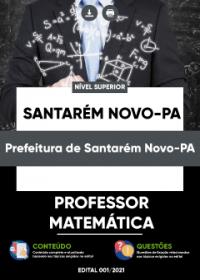 Professor - Matemática - Prefeitura de Santarém Novo-PA