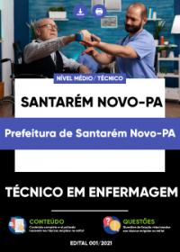 Técnico em Enfermagem - Prefeitura de Santarém Novo-PA