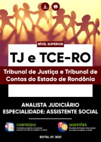 Analista Judiciário - Especialidade: Assistente Social - TJ e TCE-RO