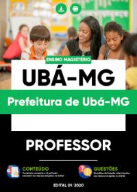 Professor - Prefeitura de Ubá-MG