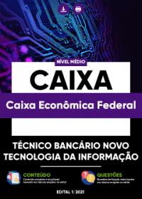 Técnico Bancário Novo - Tecnologia da Informação - Caixa Econômica Federal
