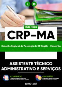 Assistente Técnico Administrativo e Serviços - CRP-MA