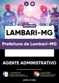 Agente Administrativo - Prefeitura de Lambari-MG