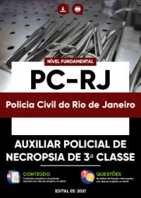 Auxiliar Policial de Necropsia de 3ª Classe - PC-RJ