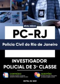 Investigador Policial de 3ª Classe - PC-RJ