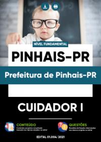 Cuidador I - Prefeitura de Pinhais-PR